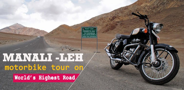 Motorbike Tour in Leh- World Highest Road